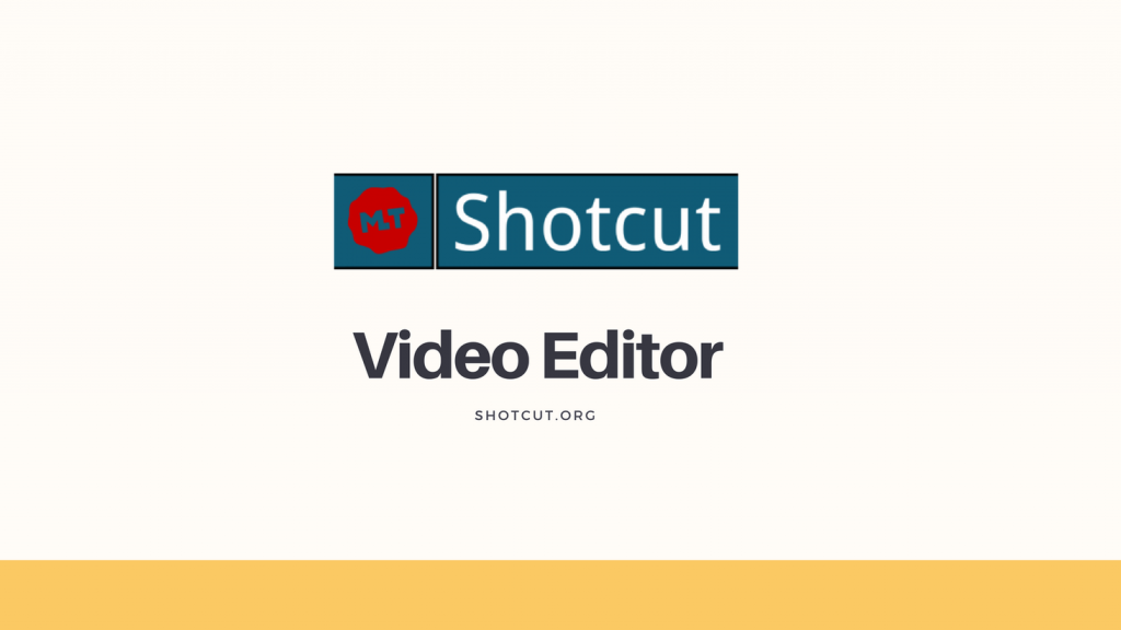 Logo del editor de video libre Shotcut