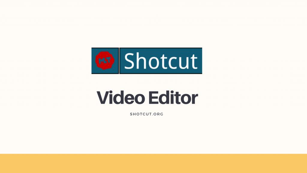 Logo del editor de video libre Shotcut